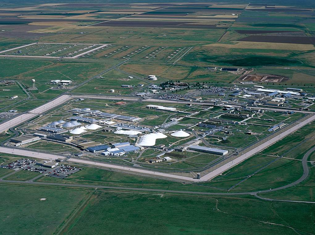 aerial view of a U.S. Department of Energy facility