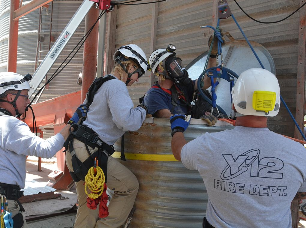 Y-12 fire department safety drills
