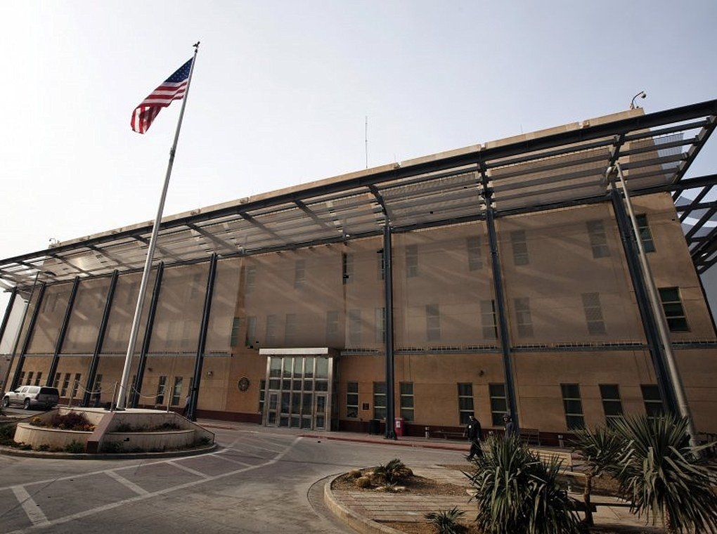 U.S. embassy in Baghdad, Iraq
