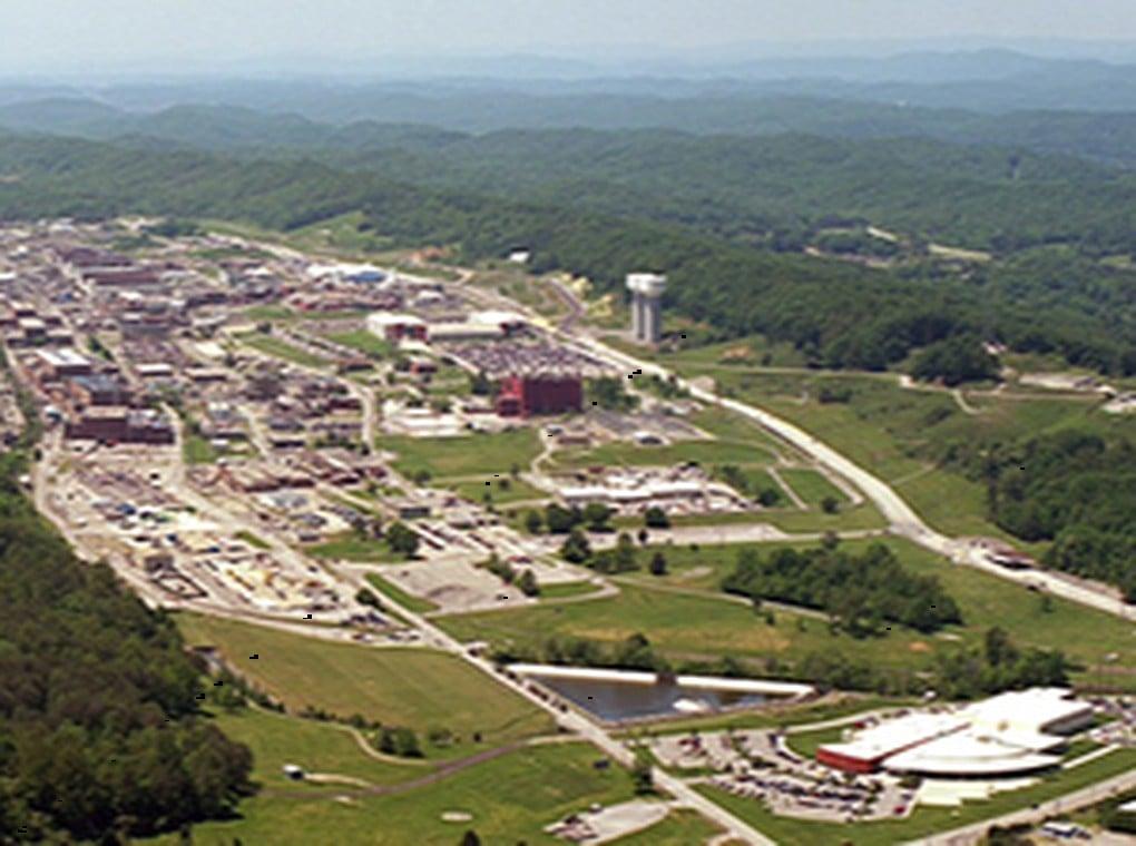 aerial view of NNSA U.S. nuclear site